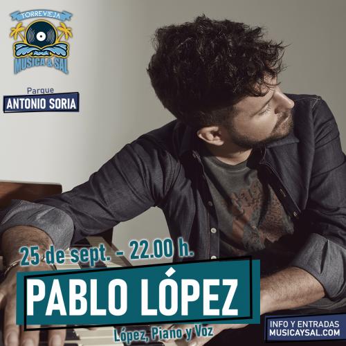 PABLO LOPEZ - LÓPEZ, PIANO Y VOZ